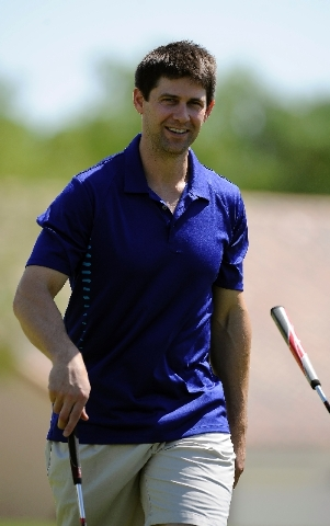 Heisman Trophy winner and former Nebraska star Eric Crouch plays in the Level Playing Field Foundation golf fundraiser Saturday at Palm Valley Golf Course in Summerlin.