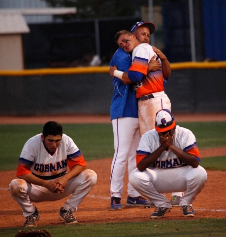 Bishop Gorman players come to grips after the back-to-back losses to the Cougars and the end of the Gaels' seven-year state championship streak.