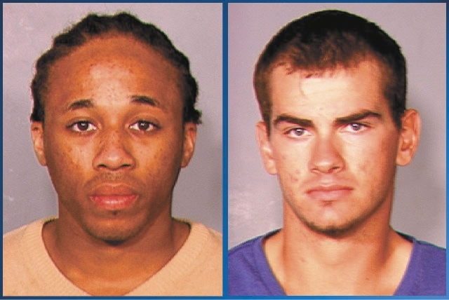 Michael Solid, left, and Jacob Dismont face murder and robbery charges in the death of Marcos Arenas, 15.