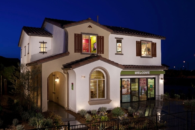 Pardee Homes' new LivingSmart Homes Sandstone neighborhood features three floor plans, including Plan One that measures 1,852 square feet. It is the home model for builder's LivingSmart Homes Moun ...