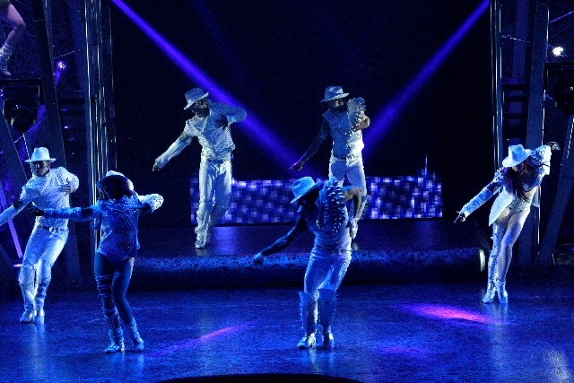 """Cirque du Soleil performers debut part of the new """"Michael Jackson One"""" show at Mandalay Bay on May 7. It offered glimpses of the show to media and was not open to the public. The show is schedule ..."""