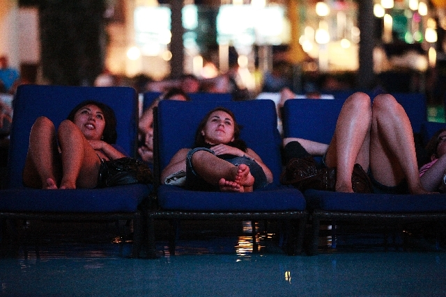 Locals only dive in movies return to the cosmopolitan las vegas review journal - Dive in movie ...