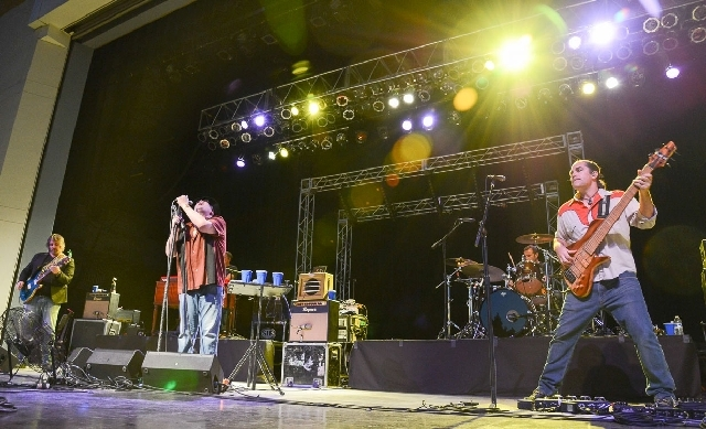 Blues Traveler rocked the Henderson Pavilion on Thursday.