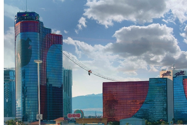 A new thrill ride, a zip line-like attraction called VooDoo Skyline, is expected to open this summer at the Rio. It will connect the resort's two towers.