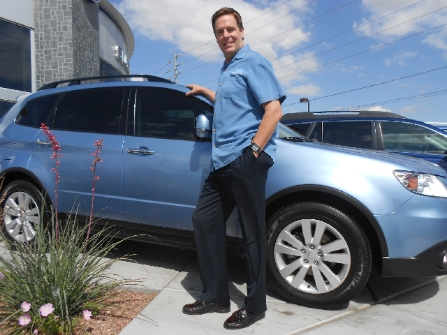 Burton Hughes is the general manager of Subaru of Las Vegas; he also is involved in the ministry.
