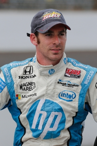 Simon Pagenaud will start outside in Row 7