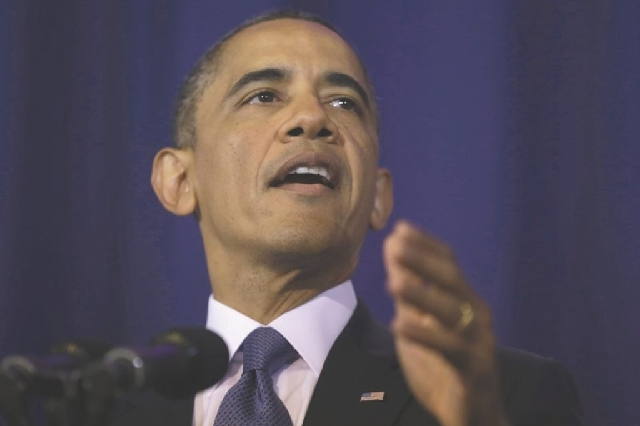 President Barack Obama spoke on national security issues, including drone attacks and Guantanamo Bay, Thursday at National Defense University.