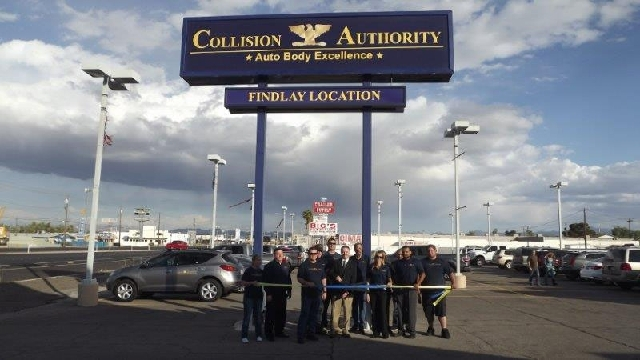Collision Authority has leased and remodeled the old Findlay Body Shop at 3024 E. Fremont St. The company now has six locations throughout Southern Nevada.