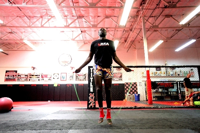 Chidi Njokuani, a Dallas native based in Las Vegas, said he signed with Resurrection Fighting Alliance because he liked the way the organization promotes its fighters.