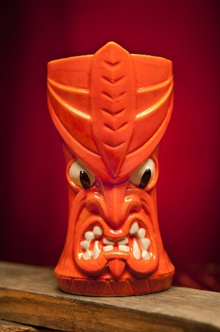 The Wild Watusi mug was designed by The Pizz.