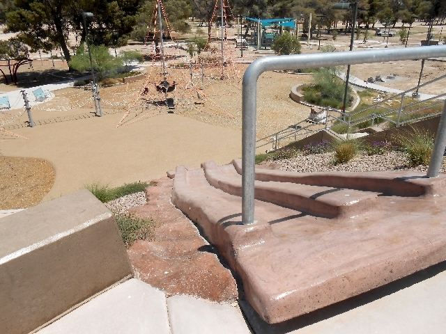 The Adventure Playground expansion at Craig Ranch Regional Park looks to include two burlap sack slides, a water feature and a climbing wall. A second playground at the park's Commerce Street entr ...