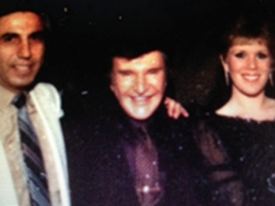 Liberace, center, played at the engagement and wedding for Dr. Elias and Jody Ghanem.