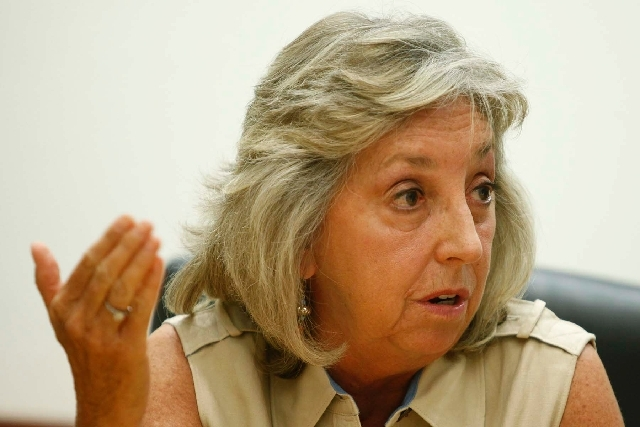 Rep. Dina Titus, a Las Vegas Democrat, is a member of the House Veterans Affairs Committee and ranking member of the subcommittee on disability assistance and memorial affairs.