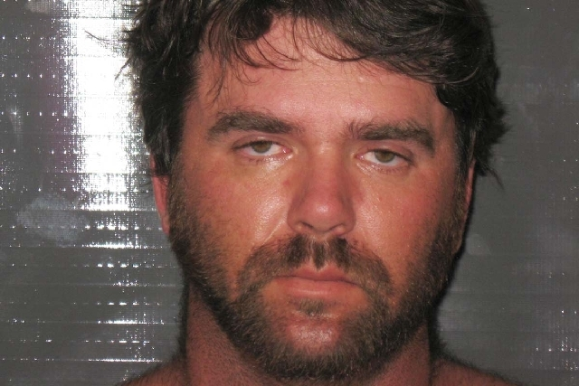 Beau Brandon Batemon, arrested in the investigation of a home burglary in Pahrump.