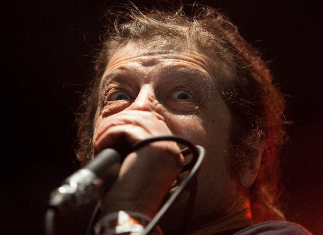 """I'm going to explode!"" Flag frontman Keith Morris screams."