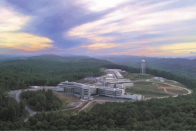Bomb-usable nuclear material originating from the Oak Ridge National Laboratory in Tennessee, shown in this 2005 photo supplied by the lab, would be shipped aboard secured tractor trailers, escort ...