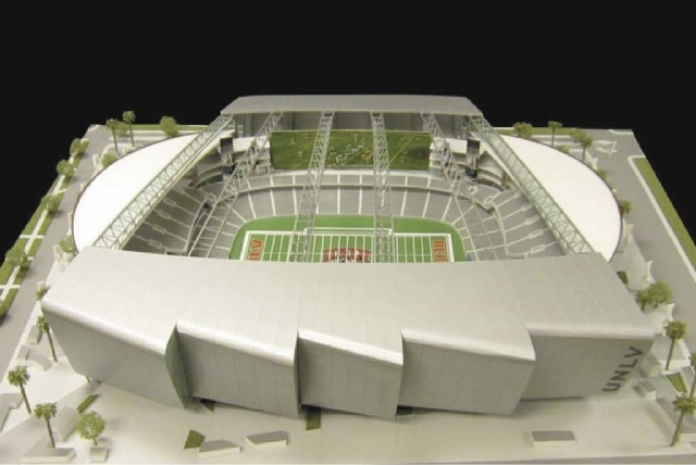 Artist's conception of events center.