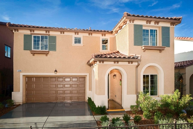 Pardee Homes' new LivingSmart Homes Sandstone neighborhood features three floor plans, including this Plan Two that measures 2,250 square feet. It is modeled at the builder's LivingSmart Homes nei ...