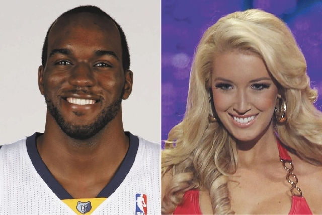 Quincy Pondexter, left, landed a date with Miss Tennessee Chandler Lawson, right, via Twitter