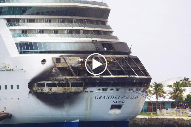 Fire breaks out aboard Royal Caribbean cruise ship   Las ...