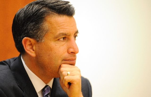 Gov. Brian Sandoval, one of nine Republican governors supporting the expansion of Medicaid. Conservative Republican legislators in major states are trying to block efforts by more pragmatic govern ...