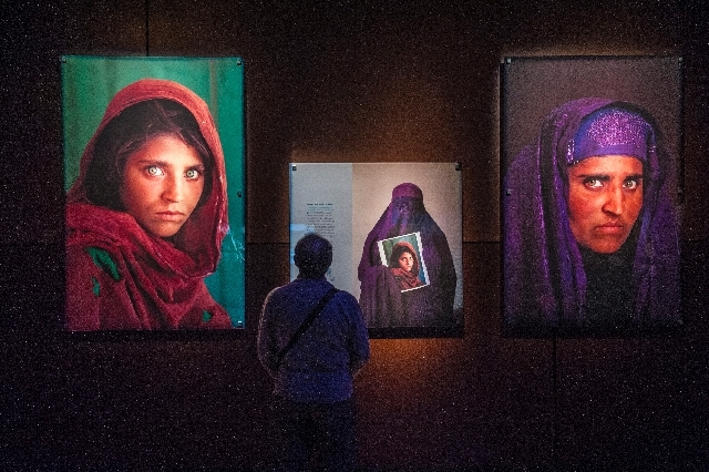 """The """"50 Greatest Photographs of National Geographic"""" will be free for teachers with proper credentials. The exhibit is at The Venetian. The show features some of the most iconic photos from the ma ..."""