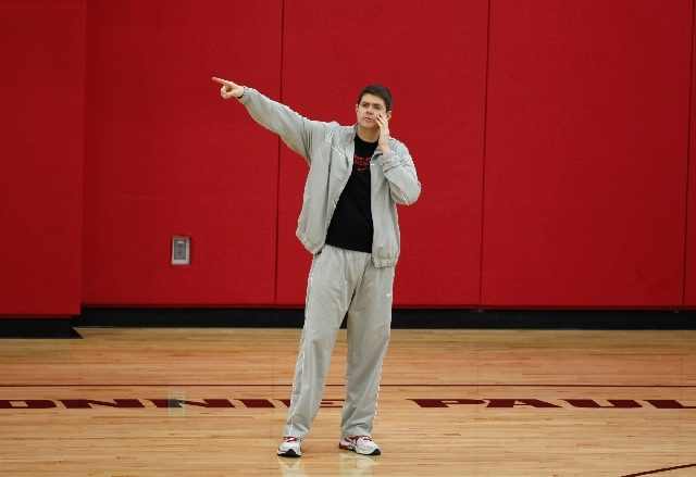 Third-year UNLV basketball coach Dave Rice looks to talented transfers while rebuilding his program to catch the eye of the prep elite.