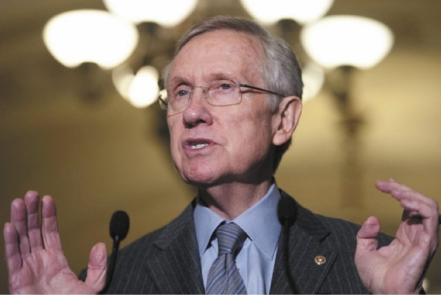 U.S. Sen. Majority Leader Harry Reid, D-Nev., said Tuesday that he stepped in to help Las Vegan Sharon Courtney, who was under the threat of deportation as an undocumented immigrant.