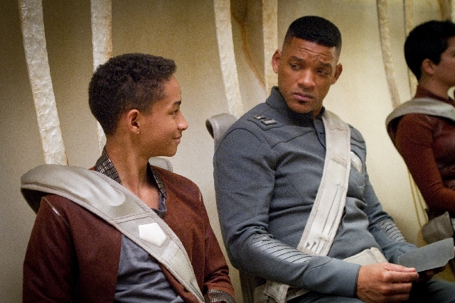 Will Smith stars in 'After Earth.""