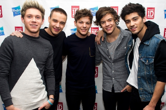 A Connecticut man has been arrested and is accused of posing as a member of the boy band One Direction, shown here, to entice young girls into performing sex acts online.