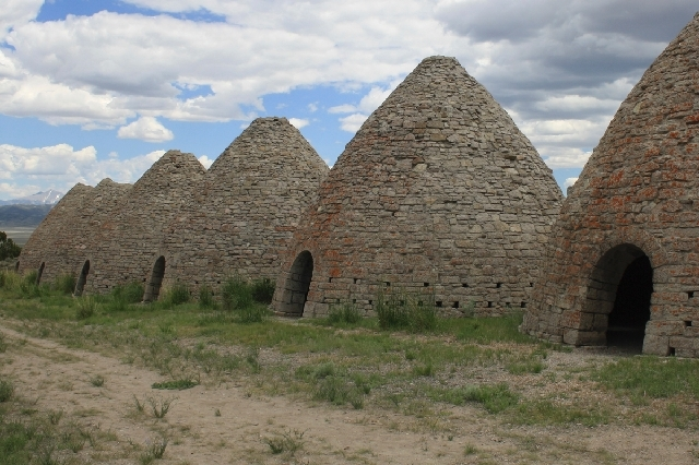 The Wards Charcoal Ovens State Historical Park, just south of Ely, is home to six 30-foot high beehive-shaped ovens used to make charcoal from 1876 through 1879.
