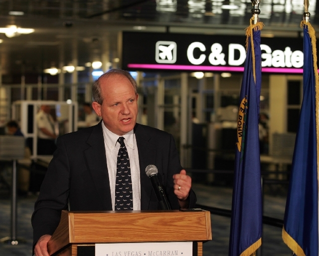 Clark County Aviation Director Randall Walker was head of McCarran International Airport for 16 years, but he would also walk the floor and talk to passengers, answer questions at the information  ...