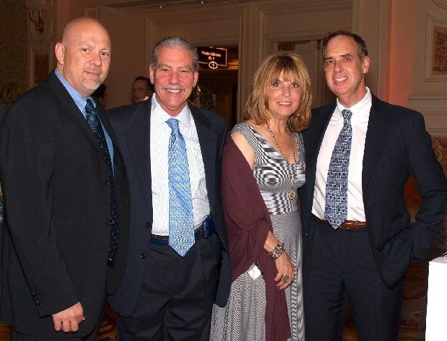 Tony Sgro, from left, Howard Olshansky, Denise and Peter Walsh