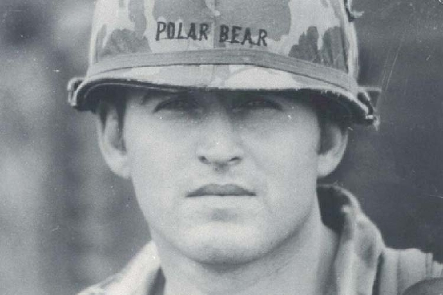 Army 1st Lt. Bill Anton is shown in this 1971 photo in Vietnam.