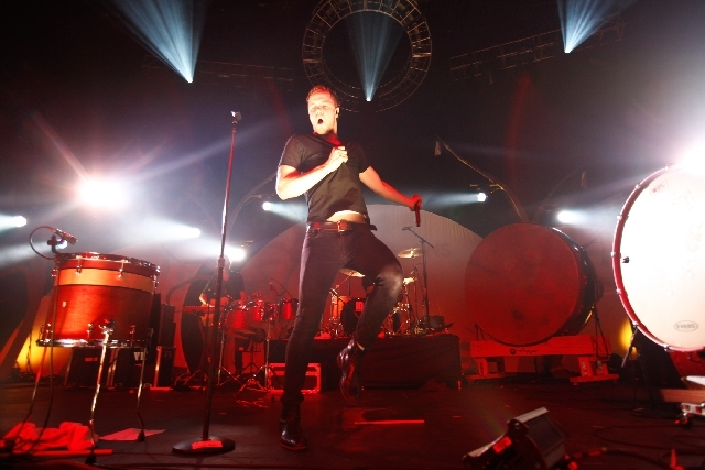 Imagine Dragons, seen at the Hard Rock Hotel in February, will be among the top-billed acts at the Life Is Beautiful music, art and food festival in October in downtown Las Vegas.