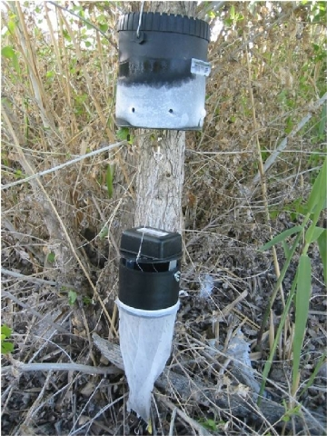 Mosquito traps are used by the Southern Nevada Health District to catch thousands of mosquitoes each year. Clark County has 17 species of mosquitoes that the health district tests for various viruses.