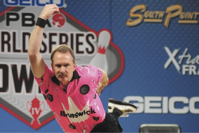 Walter Ray Williams Jr., shown in the World Series of Bowling last year at the South Point, will play in the Suncoast PBA Senior U.S. Open starting today.