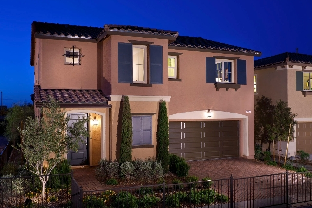 Pardee Homes' LivingSmart Homes Sandstone will showcases its 2,432-square-foot model home during today's grand opening.