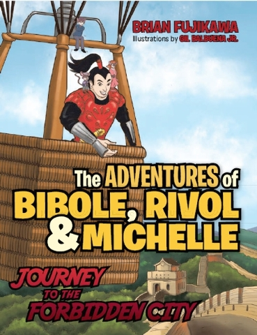 """Writing and sharing """"The Adventures of Bibole, Rivol & Michelle: Journey to the Forbidden City"""" helped a father and daughter separated by three time zones bond."""