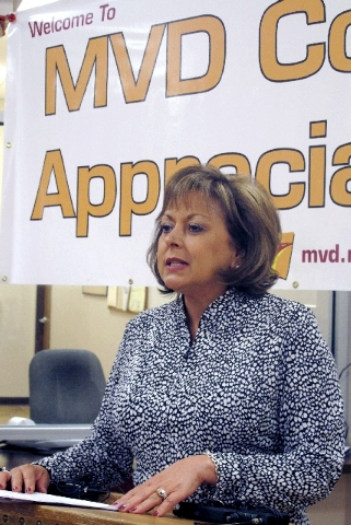 New Mexico Gov. Susana Martinez, the nation's only Latina governor, told The Associated Press on Friday that she was glad the Austin, Texas-based Whole Foods Market is reviewing its employee langu ...