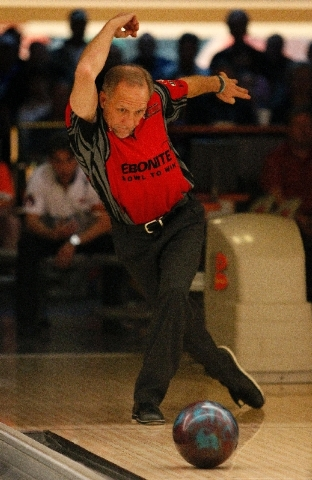 Ron Mohr, 57, the PBA50 Tour's Player of the Year in two of the past three seasons, left the 10 pin standing in the 10th frame of his loss in the final Friday.