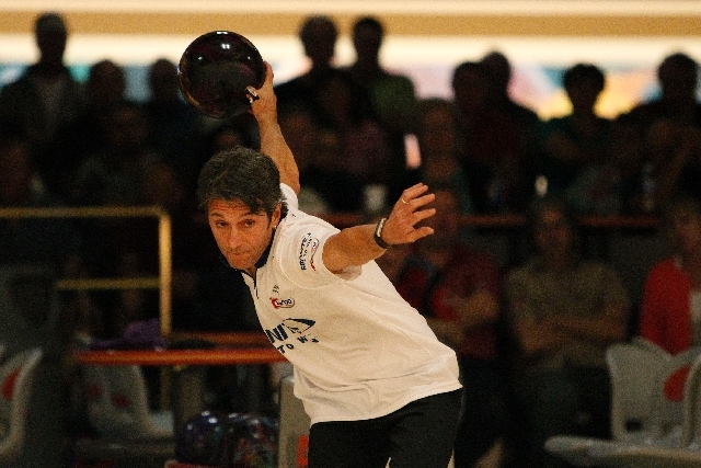 Amleto Monacelli competes Friday in the Suncoast PBA Senior U.S. Open at the Suncoast Bowling Center. The 51-year-old Venezuelan beat Ron Mohr 199-193 in the final to earn $14,000.