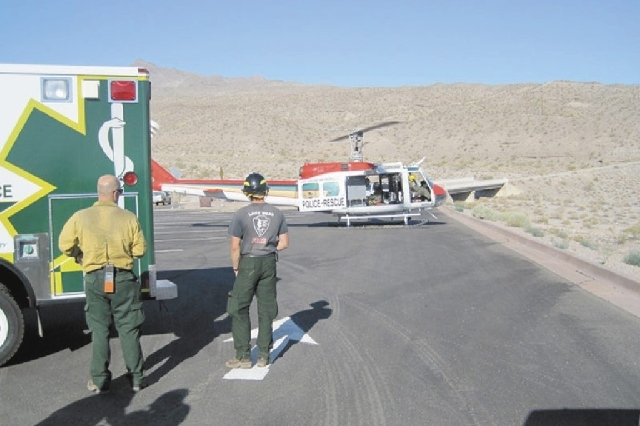 Search and Rescue operations Saturday at White Rock Canyon at Lake Mead National Recreation Area found four Boy Scouts and a Scout leader.