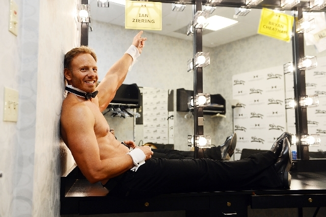 Ian Ziering made his debut in Chippendales at the Rio All-Suite Hotel and Casino on June 8.
