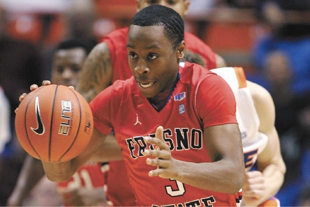 Guard Kevin Olekaibe is transferring to UNLV after three seasons at Fresno State.