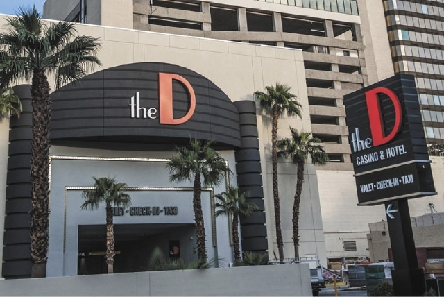 A man was shot outside The D Las Vegas last week in the waning hours of First Friday celebrations.
