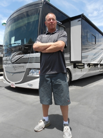 Findlay RV Service Manager Kurt Milana is back working for his old employer after spending three years in Hawaii.
