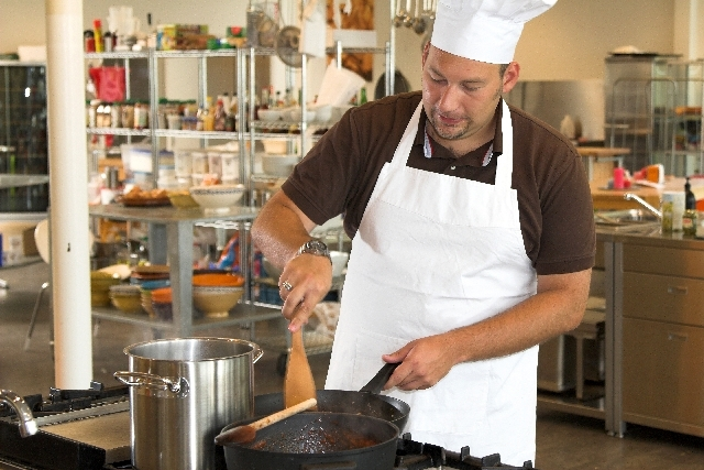 A Father's Day Cook-Off - Chef Battle Sunday will take place starting at 9 a.m. at The Cooking Experience by Mise en Place, 9500 S. Eastern Ave.