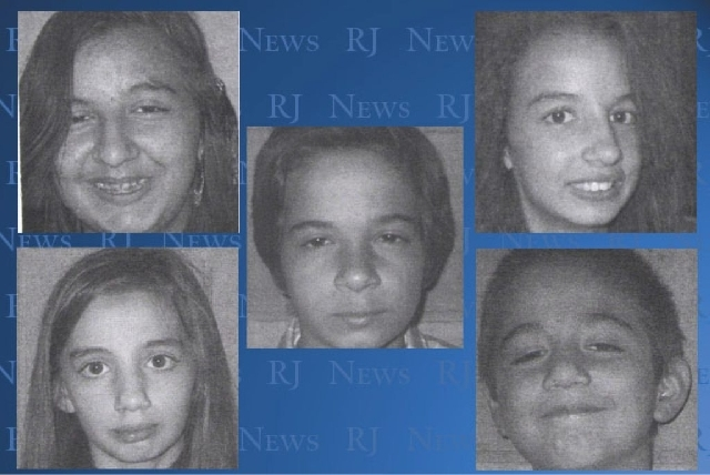 Police are looking for Savannah Nicholas, 14, Violet Bimbo-Nicholas, 13, Luchiano Nicholas, 11, Sarah Nicholas, 9, and Demetri Nicholas, 7, who ran away from Child Haven Tuesday afternoon.