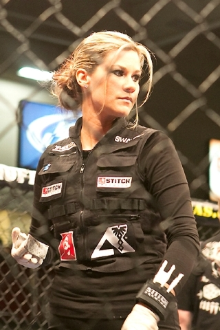 On Friday night,  Valentine will be at the Hard Rock Hotel working the World Series of Fighting card.